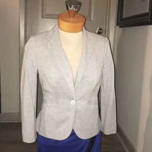 Fitted Light grey blazer never worn